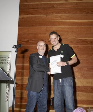 collecting the gold award 2010 for songlines