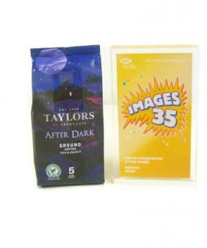 winner of gold award illustration for design 2011 taylors of harrogate coffee after dark