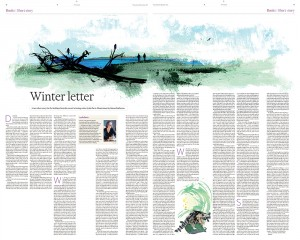 ft winter letter spread